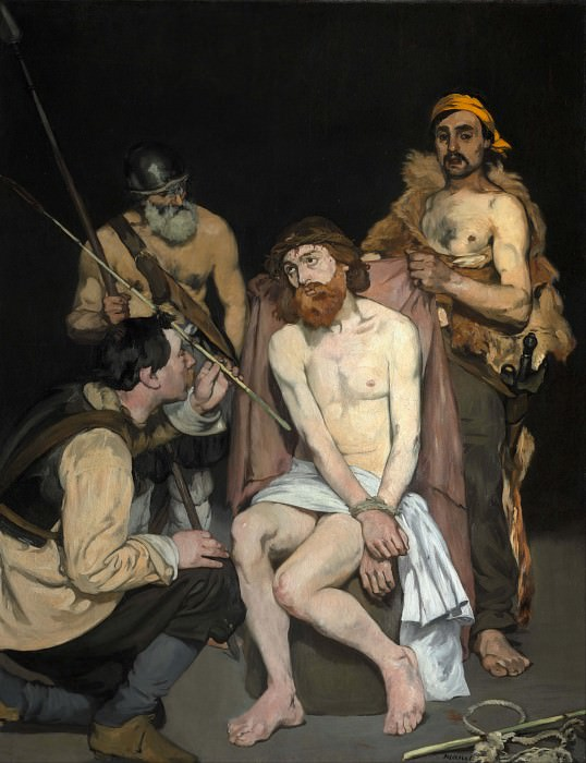 Jesus Mocked by the Soldiers. Édouard Manet