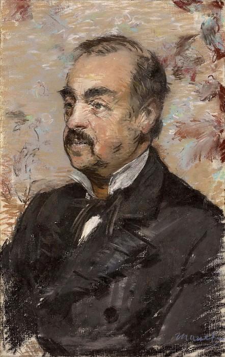 Portrait of Julien de la Rochenoire. Édouard Manet