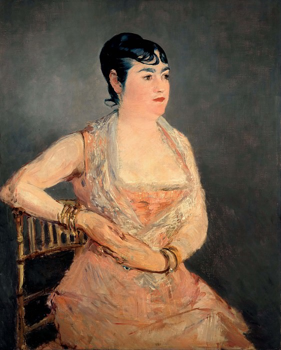 Lady in Pink. Édouard Manet