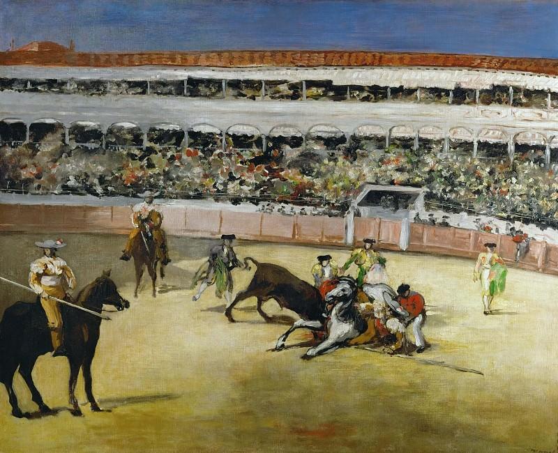 Bullfight. Édouard Manet
