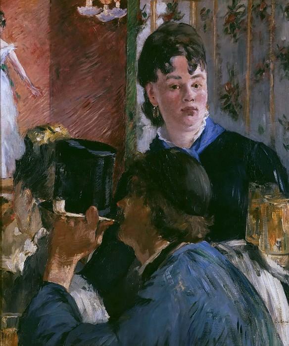 Barmaid. Édouard Manet