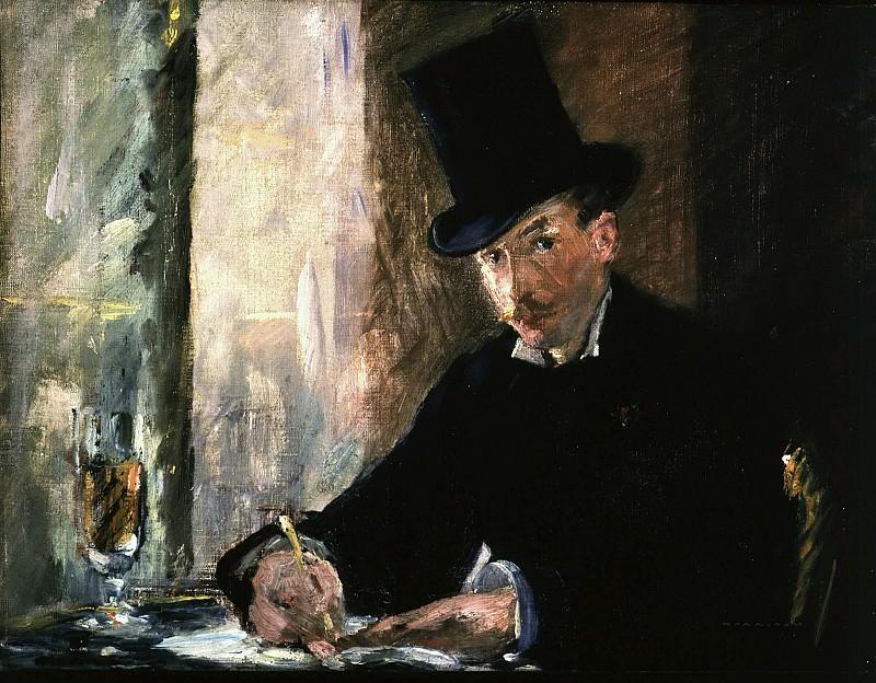 Chez Tortoni. Édouard Manet