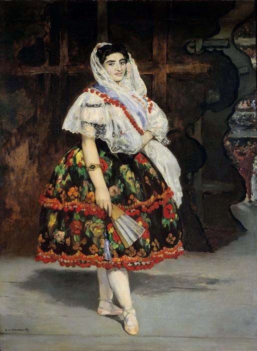 Lola de Valence. Édouard Manet