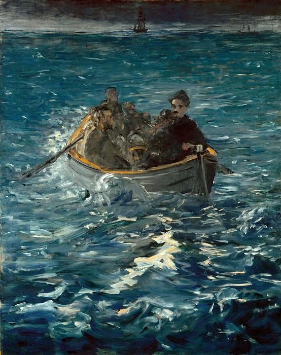 Henri Rochefors escape. Édouard Manet