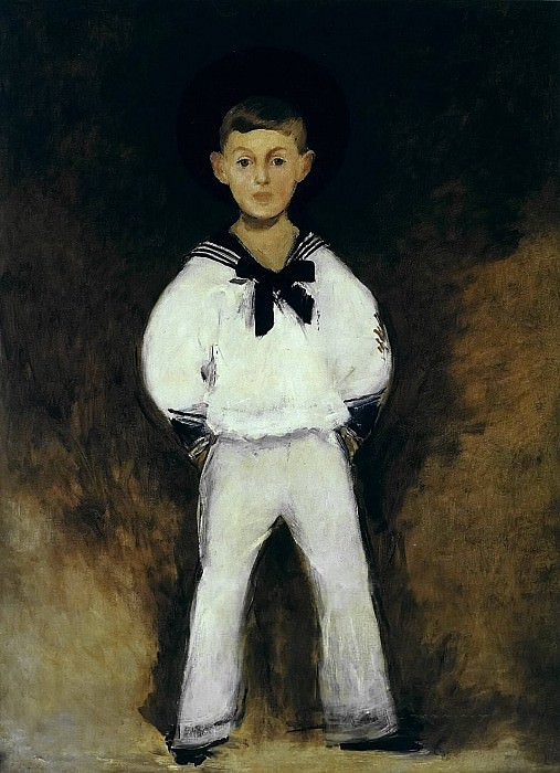 Henry Bernstein as a child. Édouard Manet