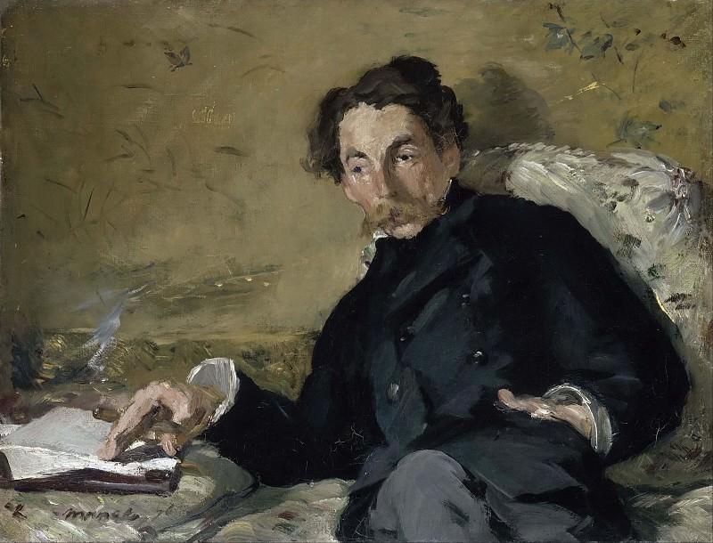 Stephane Mallarme. Édouard Manet
