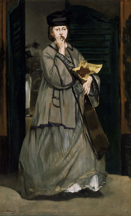 The Street Singer. Édouard Manet