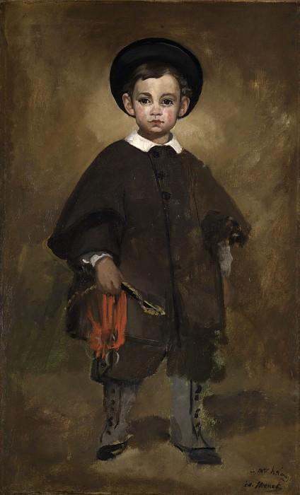 Портрет ребенка. Эдуард Мане