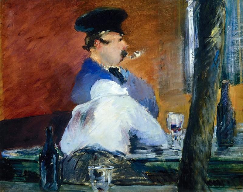The Bar. Édouard Manet