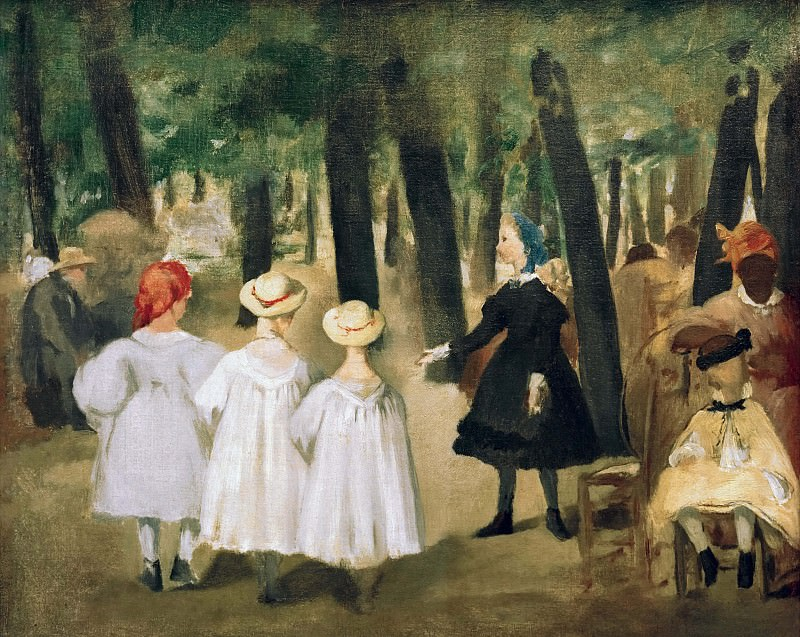 Children in the Tuileries. Édouard Manet