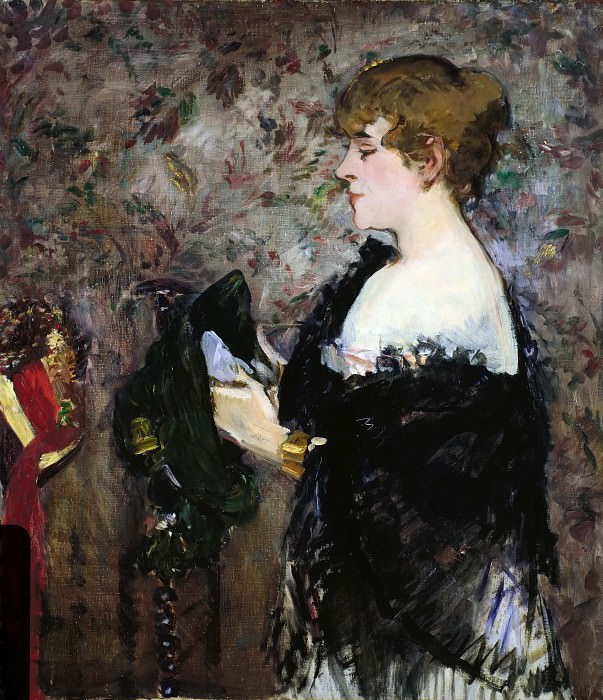 At The Milliners. Édouard Manet