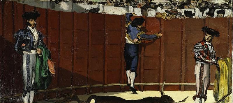 The Bullfight. Édouard Manet