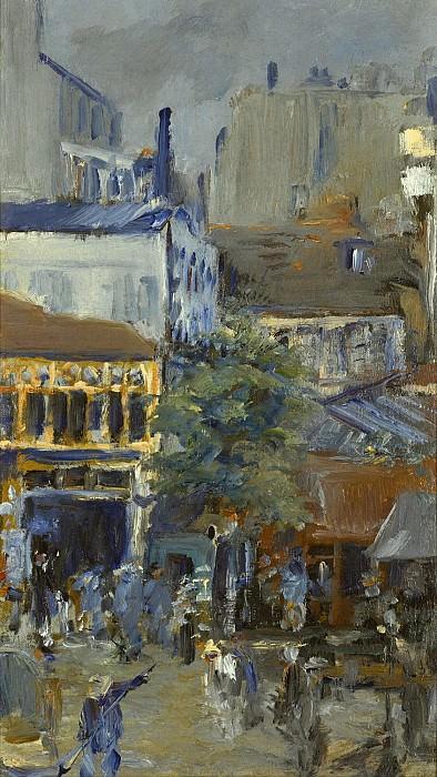SQUARE CLICHY. Édouard Manet
