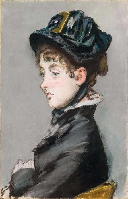 Madame Guillemet. Édouard Manet