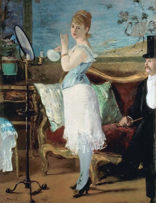 Nana. Édouard Manet