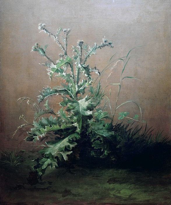 The Thistle. Édouard Manet