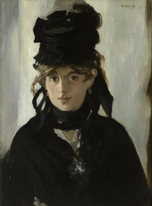 Berthe Morisot With a Bouquet of Violets. Édouard Manet