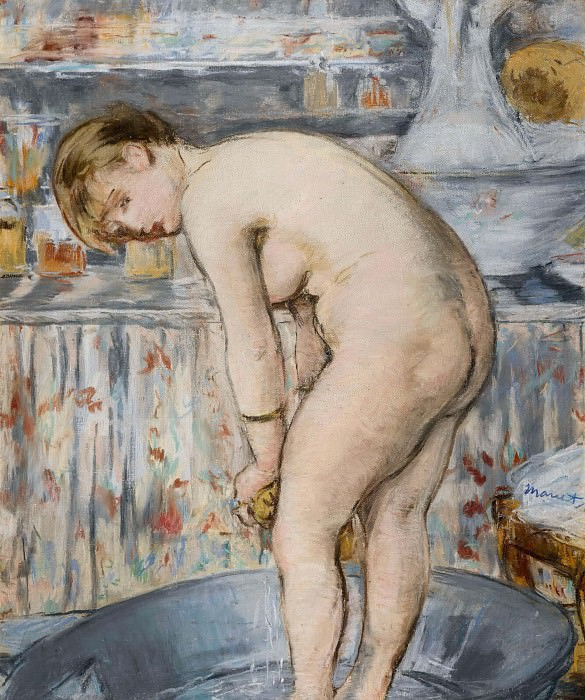The Tub. Édouard Manet