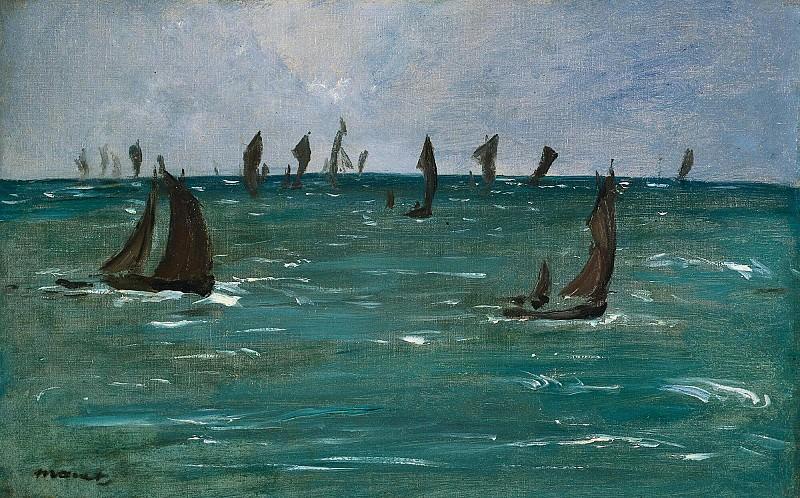 Лодки. Эдуард Мане