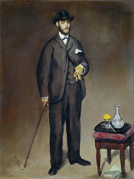 Portrait of Theodore Duret. Édouard Manet