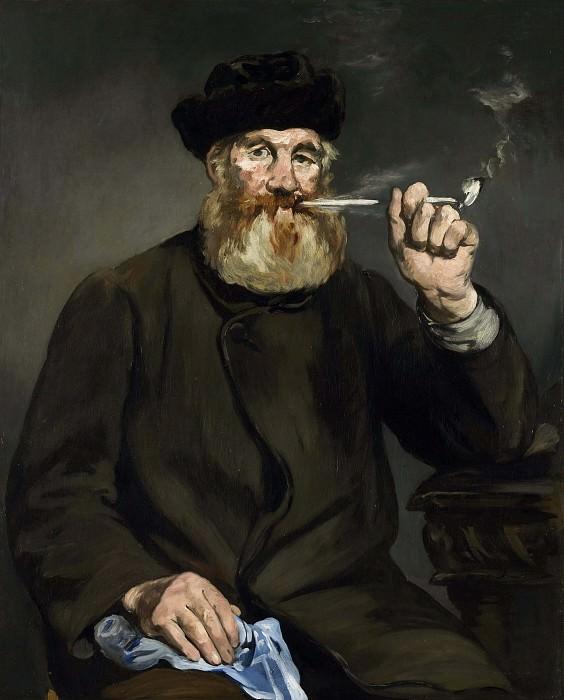 The Smoker. Édouard Manet