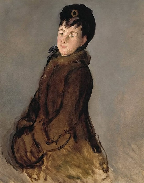 Portrait of Isabelle Lemonnier. Édouard Manet