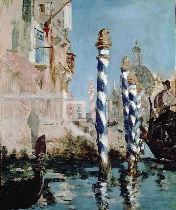 The Grand Canal, Venice. Édouard Manet