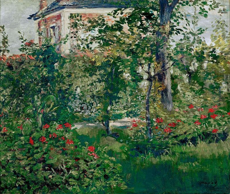 Bellevue Garden. Édouard Manet