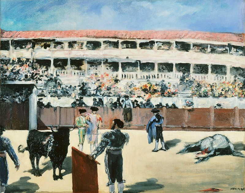 The Bullfight. Édouard Manet