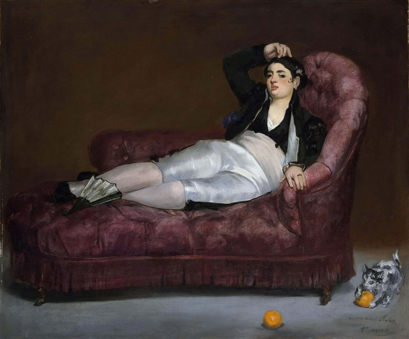 Young Woman Reclining