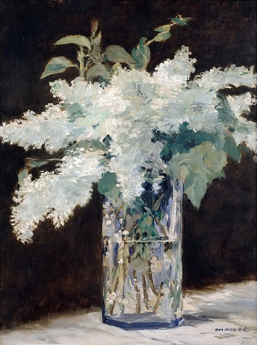 The lilac bouquet. Édouard Manet