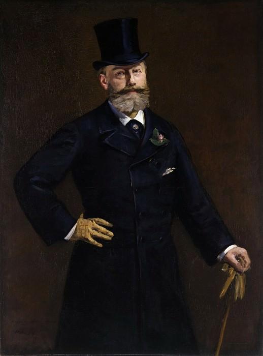 Portrait of M. Antonin Proust. Édouard Manet