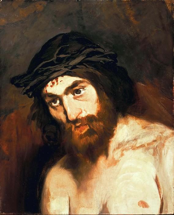 Голова Христа. Эдуард Мане