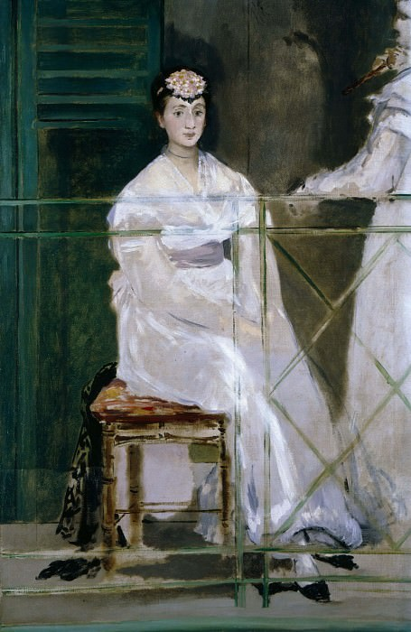 Mademoiselle Claus. Édouard Manet