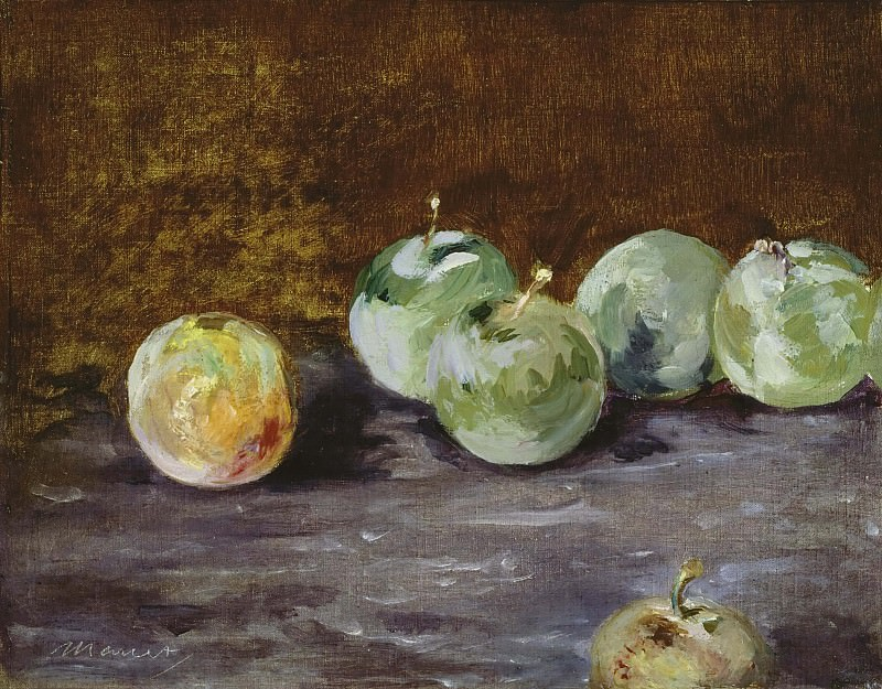 Plums. Édouard Manet