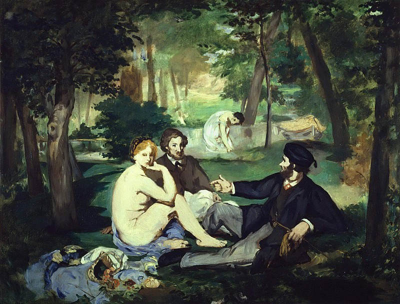 Luncheon on the Grass. Édouard Manet