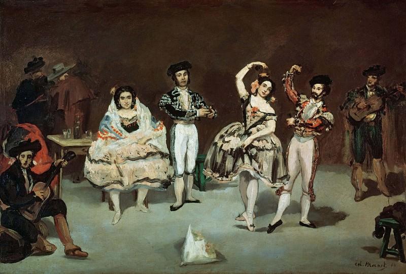 The Spanish Ballet. Édouard Manet