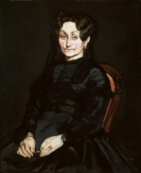 Portrait of Madame Auguste Manet