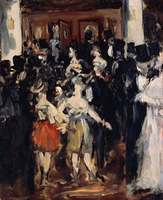 Masked Ball at the Opera. Édouard Manet