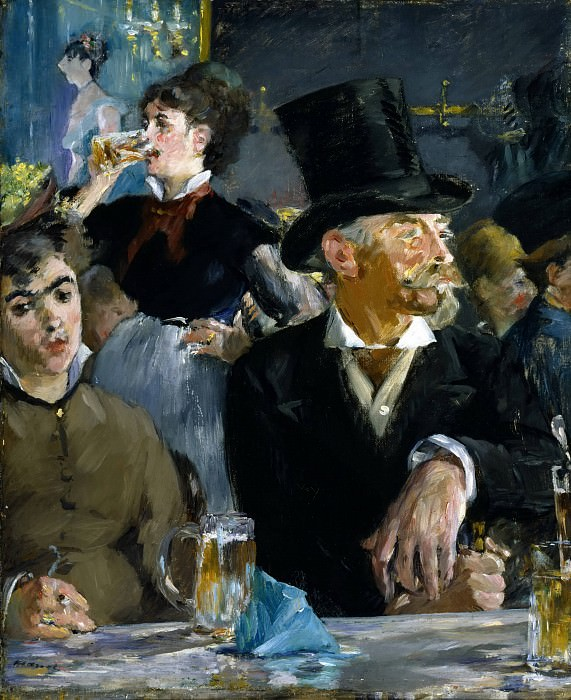 At the Cafe. Édouard Manet