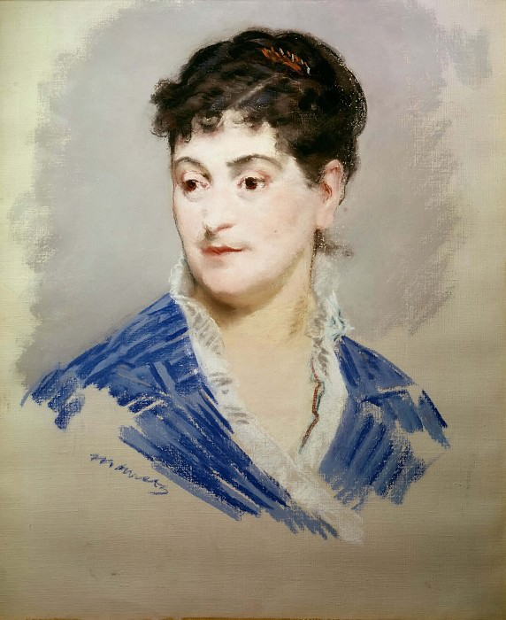 Portrait of Madame Emile Zola. Édouard Manet