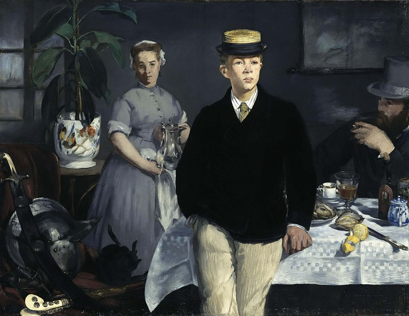 Luncheon. Édouard Manet