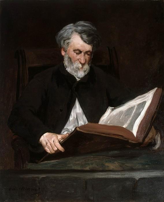 The Reader. Édouard Manet