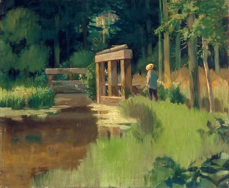 In a Park. Édouard Manet