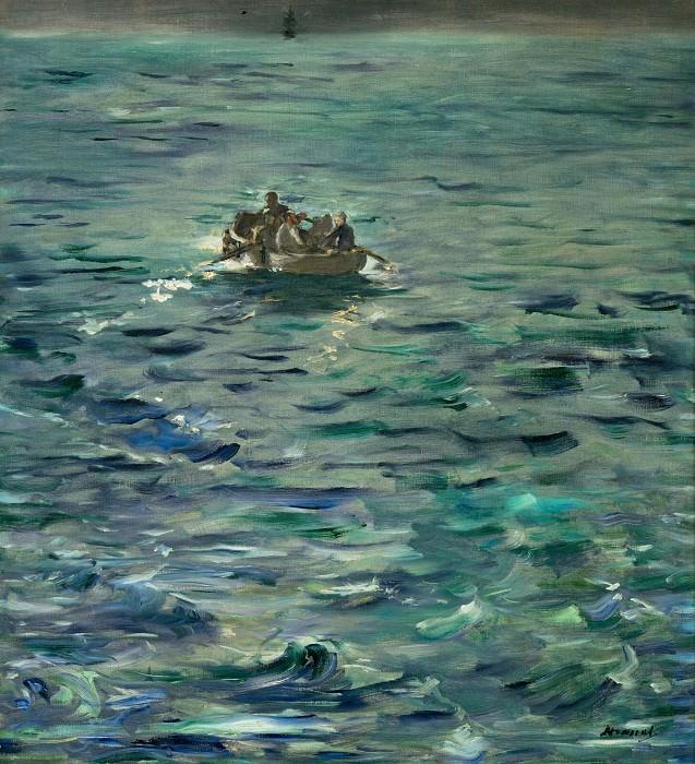 Evasion de Rochefort. Édouard Manet