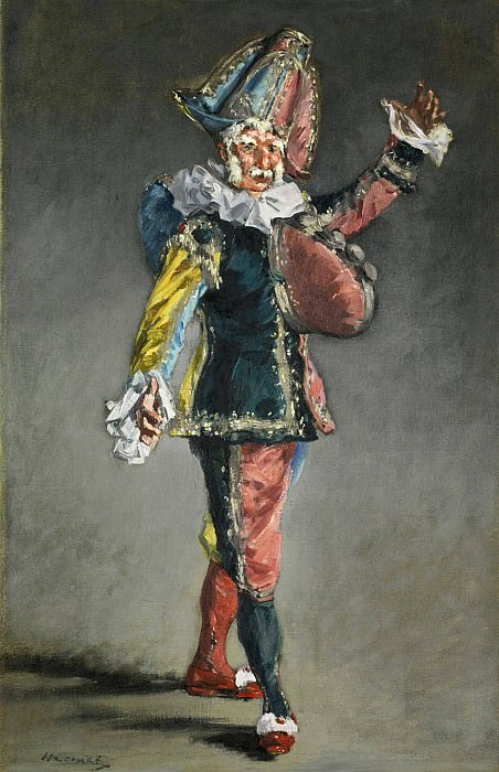Polichinelle. Édouard Manet