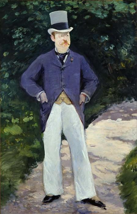 Portrait of Monsieur Brun. Édouard Manet