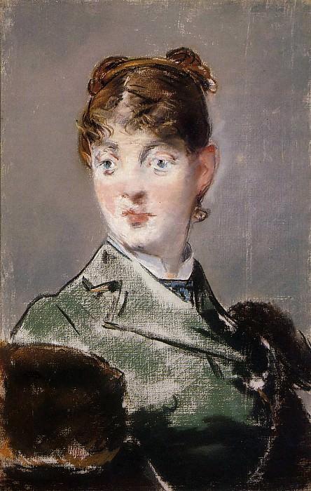 Parisienne (Portrait of Madame Guillemet). Édouard Manet