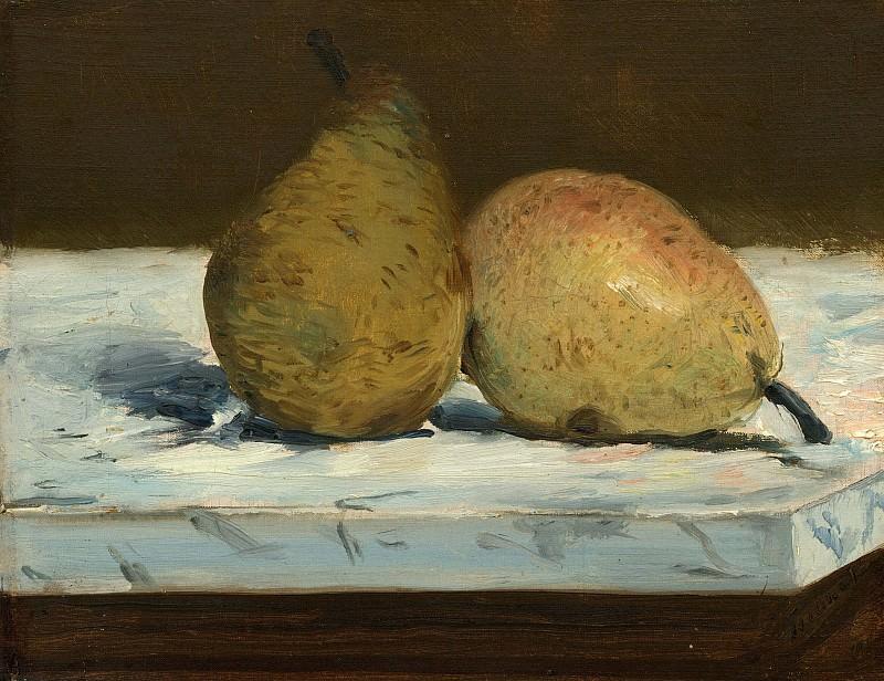 Pears. Édouard Manet