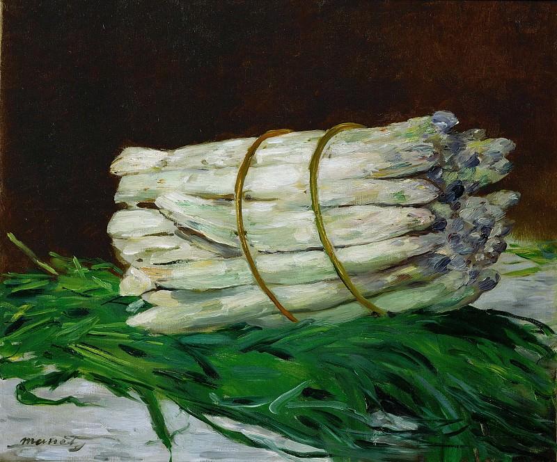 A Bunch of Asparagus. Édouard Manet